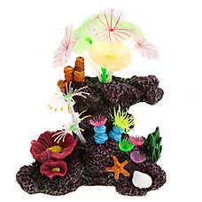 GloFish® Coral Movable Plant Aquarium Ornament