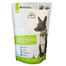 Mary's Organic Raw Patties Dog Food - Grain Free, Gluten Free, Chicken