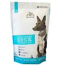 Mary's Organic Raw Patties Dog Food - Grain Free, Gluten Free, Duck