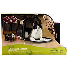 Whisker City® Leopard Soft Sided Carrier