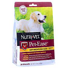Nutri-Vet Pet-Ease Dog Treat - Natural, Grain Free