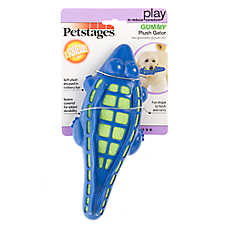 Petstages® Gummy Gator Dog Toy