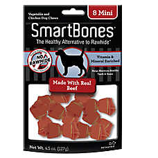 SmartBones® Mini Chews Dog Treat - Beef