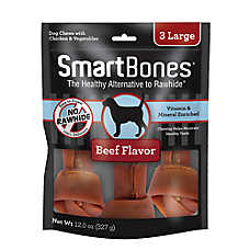 SmartBones® Large Chews Dog Treat - Beef