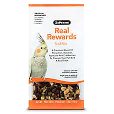 ZuPreem® Real Rewards Trail Mix Medium Bird Treats