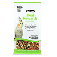 ZuPreem® Real Rewards Garden Mix Medium Bird Treats