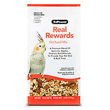 ZuPreem® Real Rewards Orchard Mix Medium Bird Treats