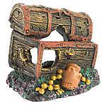 Top Fin® Sunken Treasure Chest Aquarium Ornament