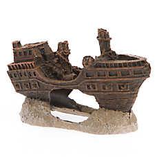 Top Fin® Pirate Ship Aquarium Ornament