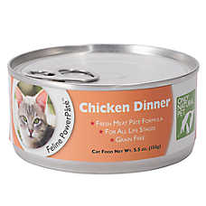 Only Natural Pet Feline PowerPate Cat Food - Natural, Grain Free, Chicken