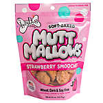 The Lazy Dog Cookie Co. Mutt Mallows Dog Treat - Natural, Strawberry Smoochies