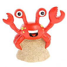 Top Fin® Crab on the Beach Aquarium Ornament