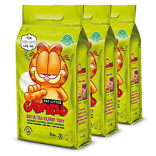 new online exclusive! Garfield cat litter
