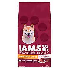 Iams® ProActive Health™ Adult Dog Food - Beef & Rice