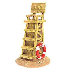 Top Fin® Lifeguard Chair Aquarium Ornament