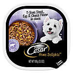 Cesar® Home Delights™ Adult Dog Food - T-Bone Steak, Egg & Cheese