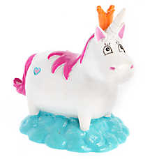 Top Fin® White Unicorn Aquarium Ornament