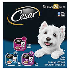 Cesar® Filets Adult Dog Food - Variety Pack, 24ct