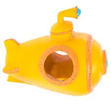 Top Fin® Yellow Submarine Aquarium Ornament