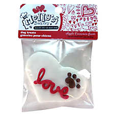 Molly's Barkery Valentine's 'Love' Dog Treat - Apple Cinnamon