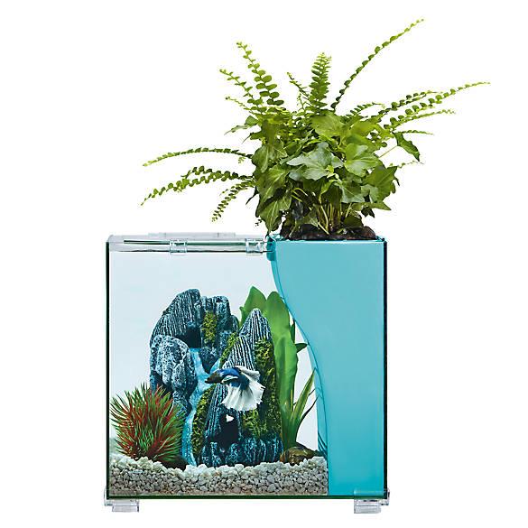 Top Fin 174 Aquaponics Embark 2 5 Gallon Desk Aquarium Fish