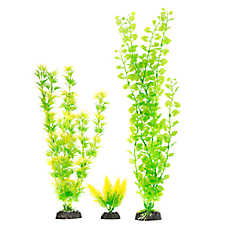 Top Fin® Green and Yellow Aquarium Plant Variety Pack