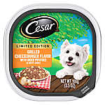 Cesar® Adult Dog Food - Grilled Cheeseburger