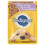 PEDIGREE® Adult Dog Food - Meaty Ground Dinner w/ Hearty Chicken