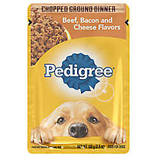 PEDIGREE® Adult Dog Food - Beef, Bacon & Cheese