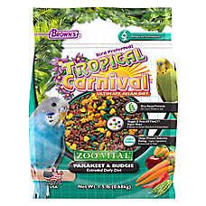 Brown's® Tropical Carnival® Zoo Vital Parakeet Bird Food