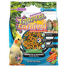 Brown's® Tropical Carnival® Zoo Vital Cockatiel and Lovebird Bird Food