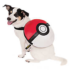 Rubies Pokeball Dog Backpack