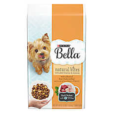 Purina® Bella Small Dog Food - Natural, Chicken & Beef