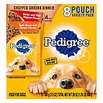 PEDIGREE® Adult Dog Food - Chopped Ground Dinner, Variety Pack, 8ct