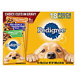 PEDIGREE® Adult Dog Food - Choice Cuts in Gravy, Variety Pack, 18ct