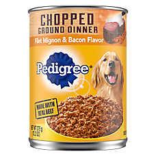 PEDIGREE® Adult Dog Food - Filet Mignon & Bacon
