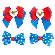 DC Comics™ Wonder Women Dog Bow Set