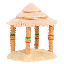 All Living Things® Tiki Hut Terrarium Ornament