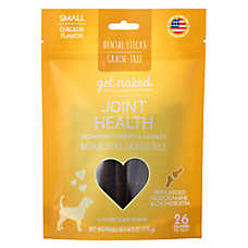 Get Naked Joint Health Small Dog Dental Treat - Natural, Grain Free, Chicken
