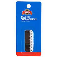 Grreat Choice® Aquarium Thermometer Strip