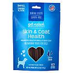 Get Naked Skin & Coat Small Dog Dental Treat - Natural, Grain Free, Chicken