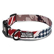 Wolfgang Man & Beast CamoFlag Dog Collar