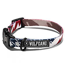 Wolfgang Man & Beast CamoFlag Dog Collar
