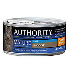 Authority® Indoor Mature Cat Food - Chicken