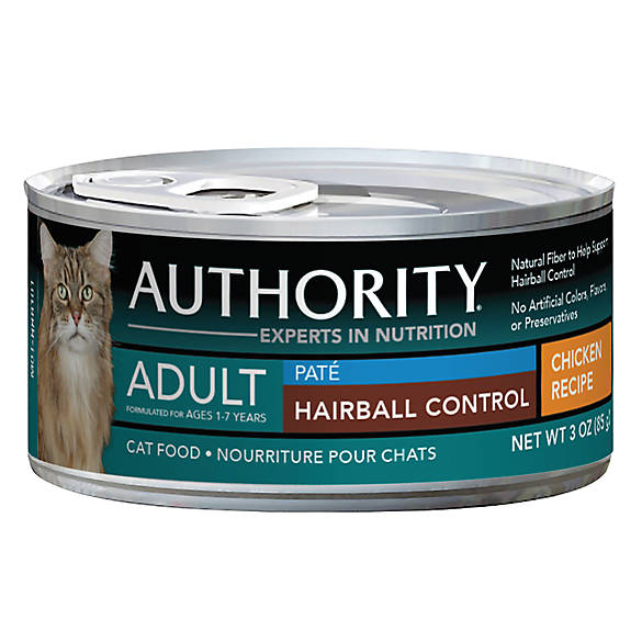 Authority 174 Hairball Control Adult Cat Food Chicken Cat
