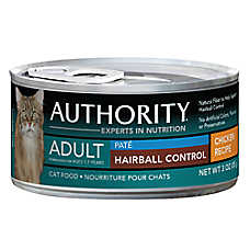 Authority® Hairball Control Adult Cat Food - Chicken