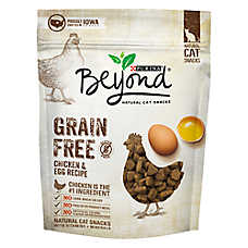 Purina® Beyond Cat Treat - Natural, Grain Free, Gluten Free, Chicken & Egg