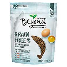 Purina® Beyond Cat Treat - Natural, Grain Free, Gluten Free, Ocean Whitefish & Egg