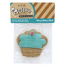 Molly's Barkery Cupcake Cookie Dog Treat - Honey Wheat