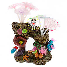 Top Fin® Glow-in-the-Dark Tall Coral Aquarium Ornament